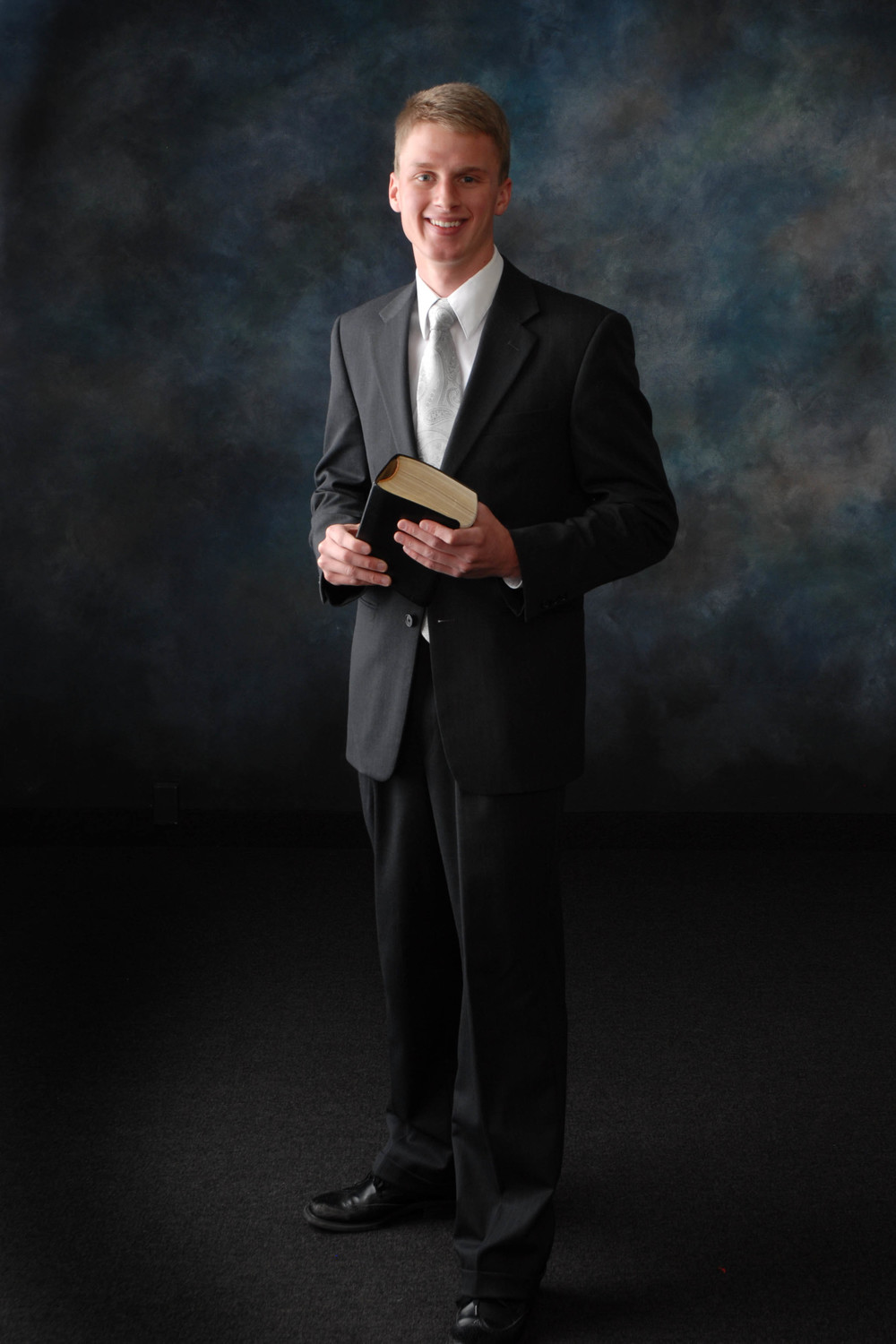 Bountiful Missionary Portrait, by Wasatch Portrait Photography