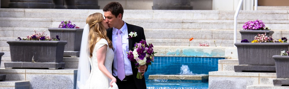 Bountiful Temple Wedding Photography