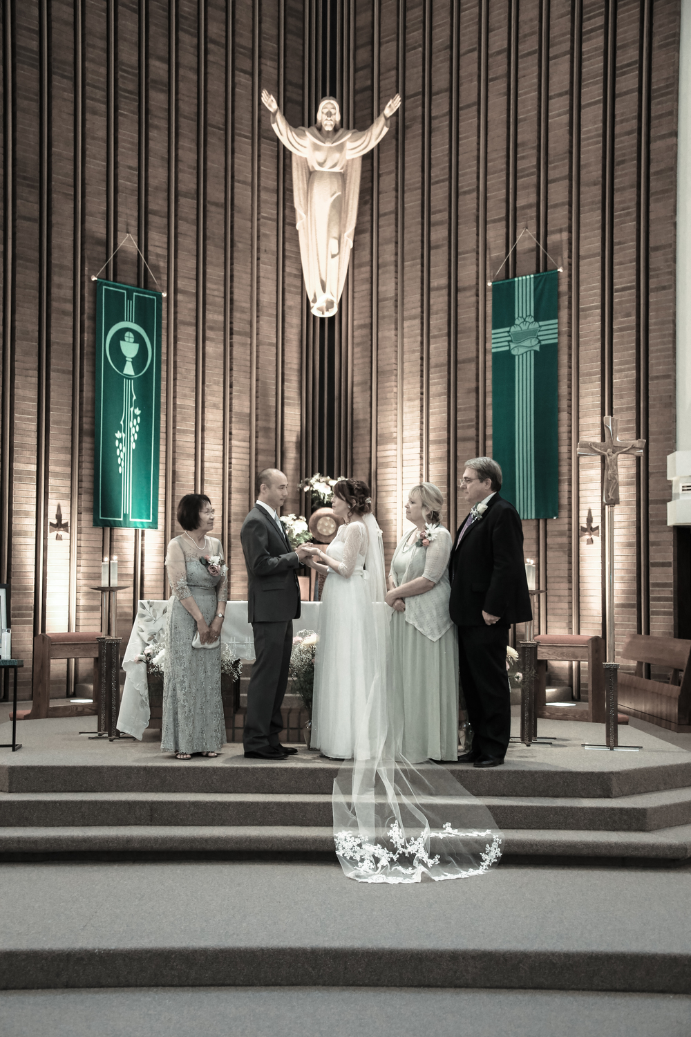 Salt Lake wedding ceremony photography