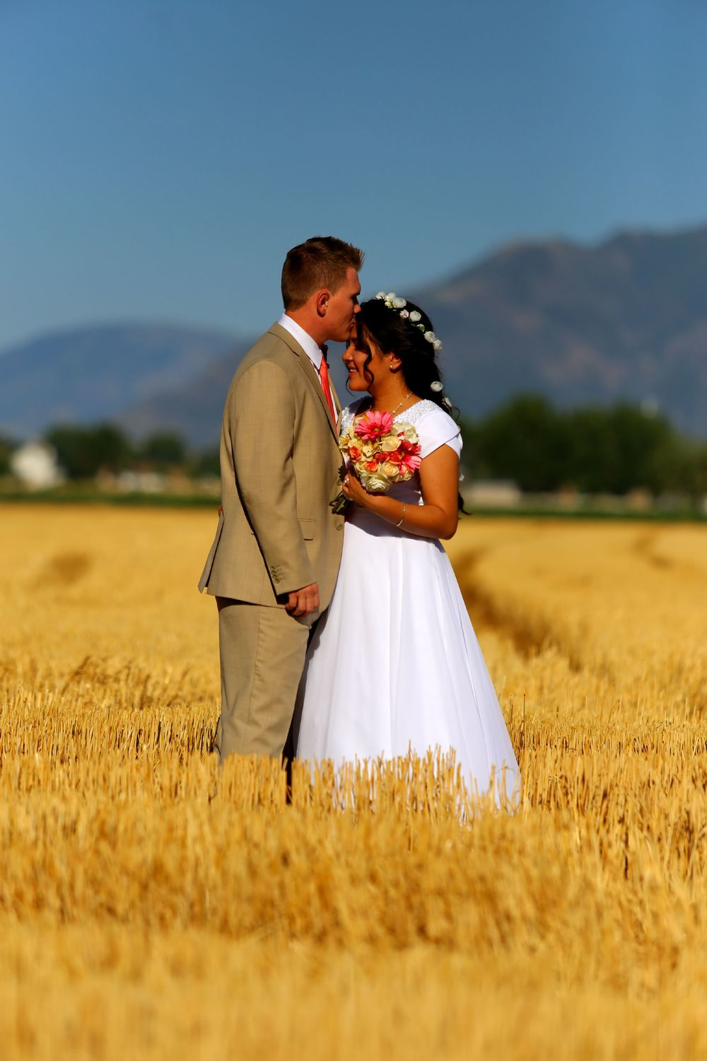 Bountiful wedding photography