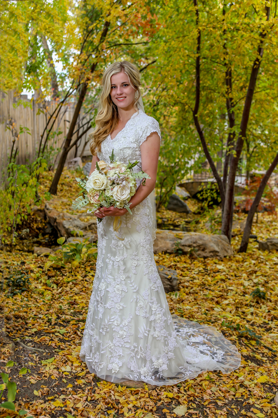 Wedding photographer in Bountiful Utah