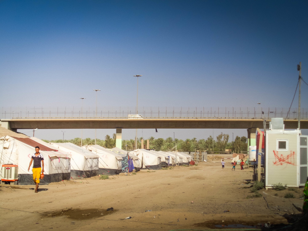 IDP settlements in Iraq have sprung up wherever permission to use the land from the government or private landowners can be secured.