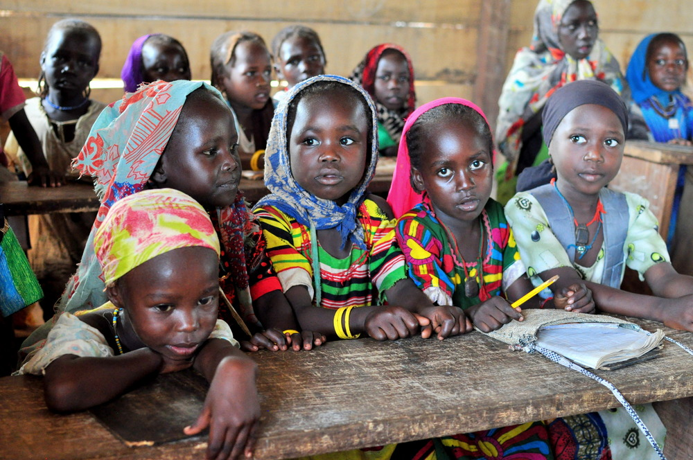 Over 300 refugee children have been born in the camp since it was established in 2011. In addition to classes in French, they are also learning in Arabic in case one day their families are able to return to Sudan.