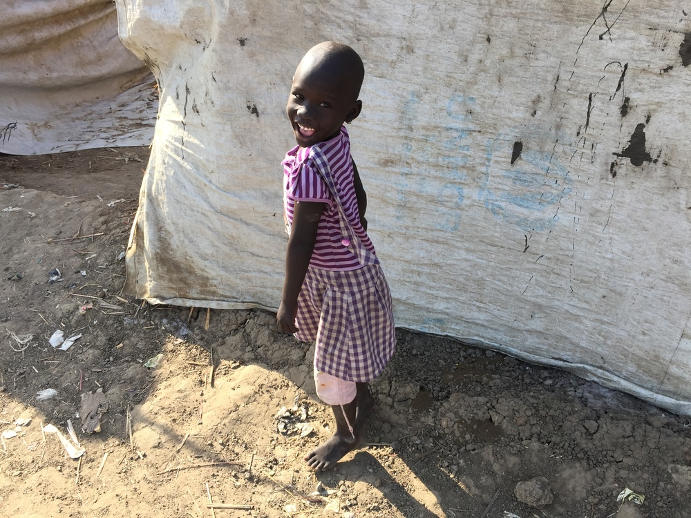 The UN protection site in Bentiu is filled with thousands of young children caught up in the brutal war between President Slava Kiir and the former vice-president, Riek Machar.