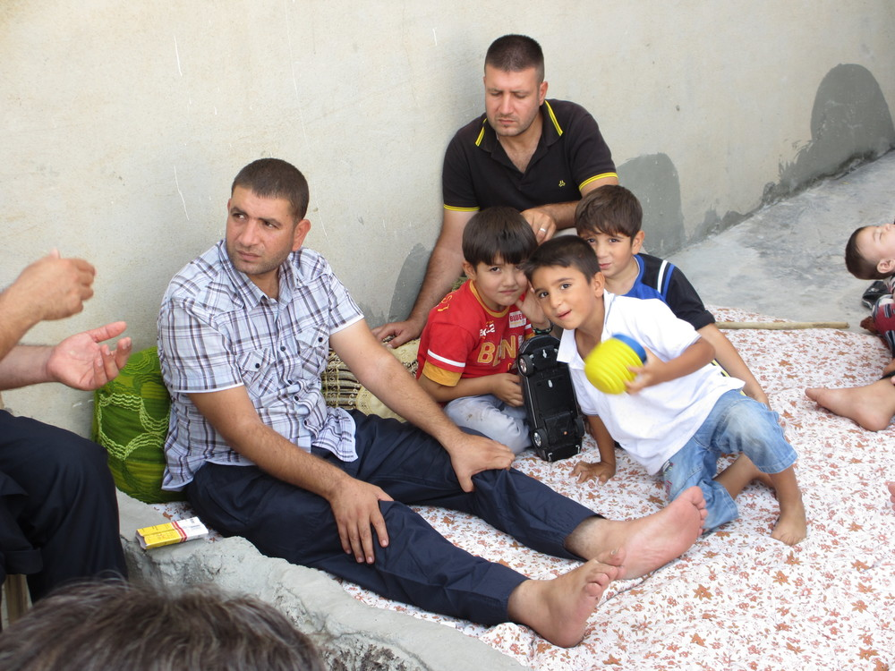 Syrian refugee family, father.JPG