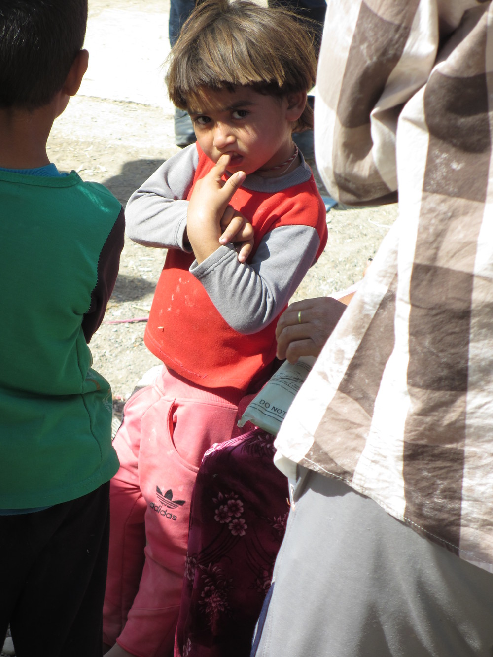 Sinjar IDP family, child.JPG