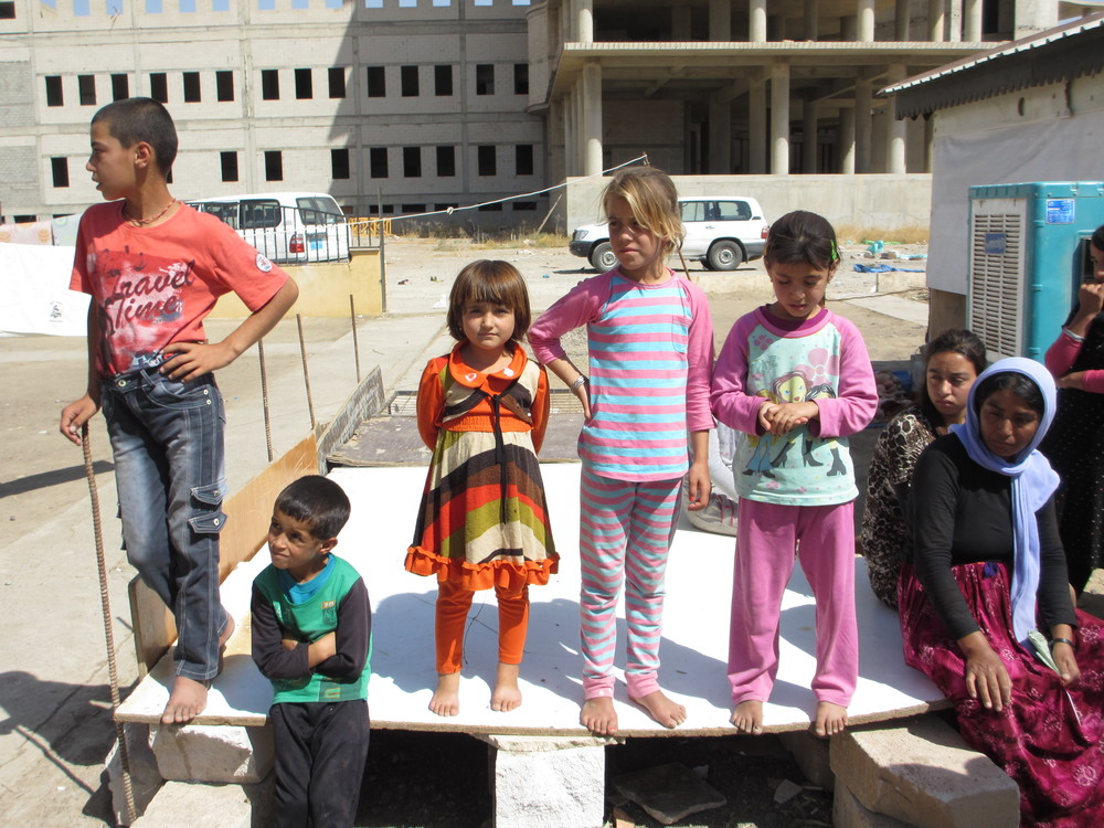 Sinjar IDP family, children.JPG