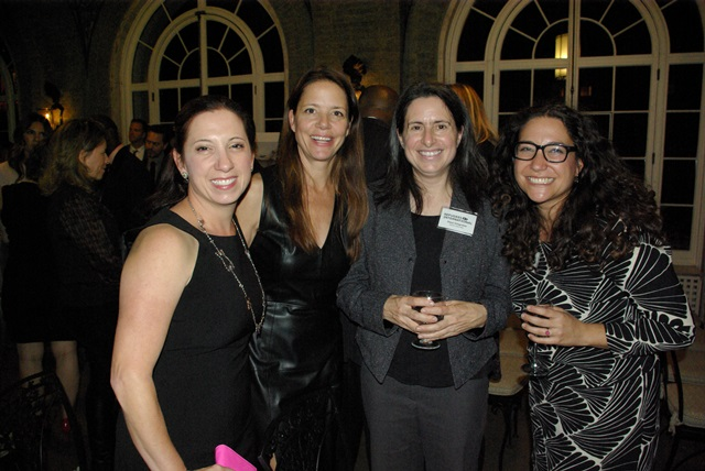 RI Board Member Joy Lian Alferness, Amy Mellen, RI Senior Advocate Daryl Grisgraber, and RI Senior Advocate Marcy Hersh