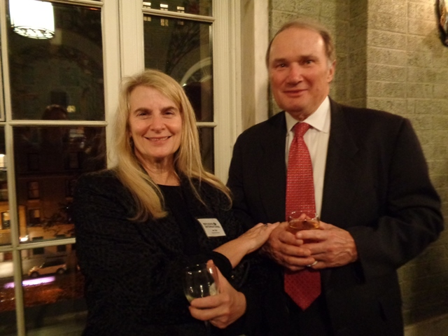 RI Board Member Jan Weil and Bruce Tully