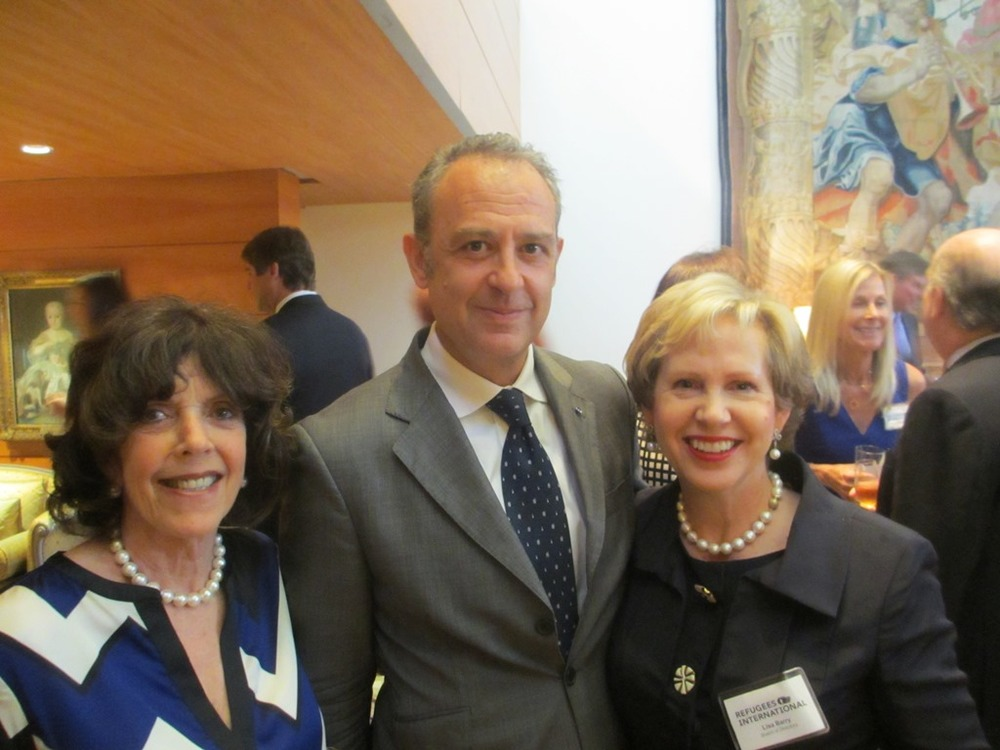 Didi Cutler, Former Ambassador of Mexico to the United States Arturo Sarukhan, and RI Board Member Lisa Barry
