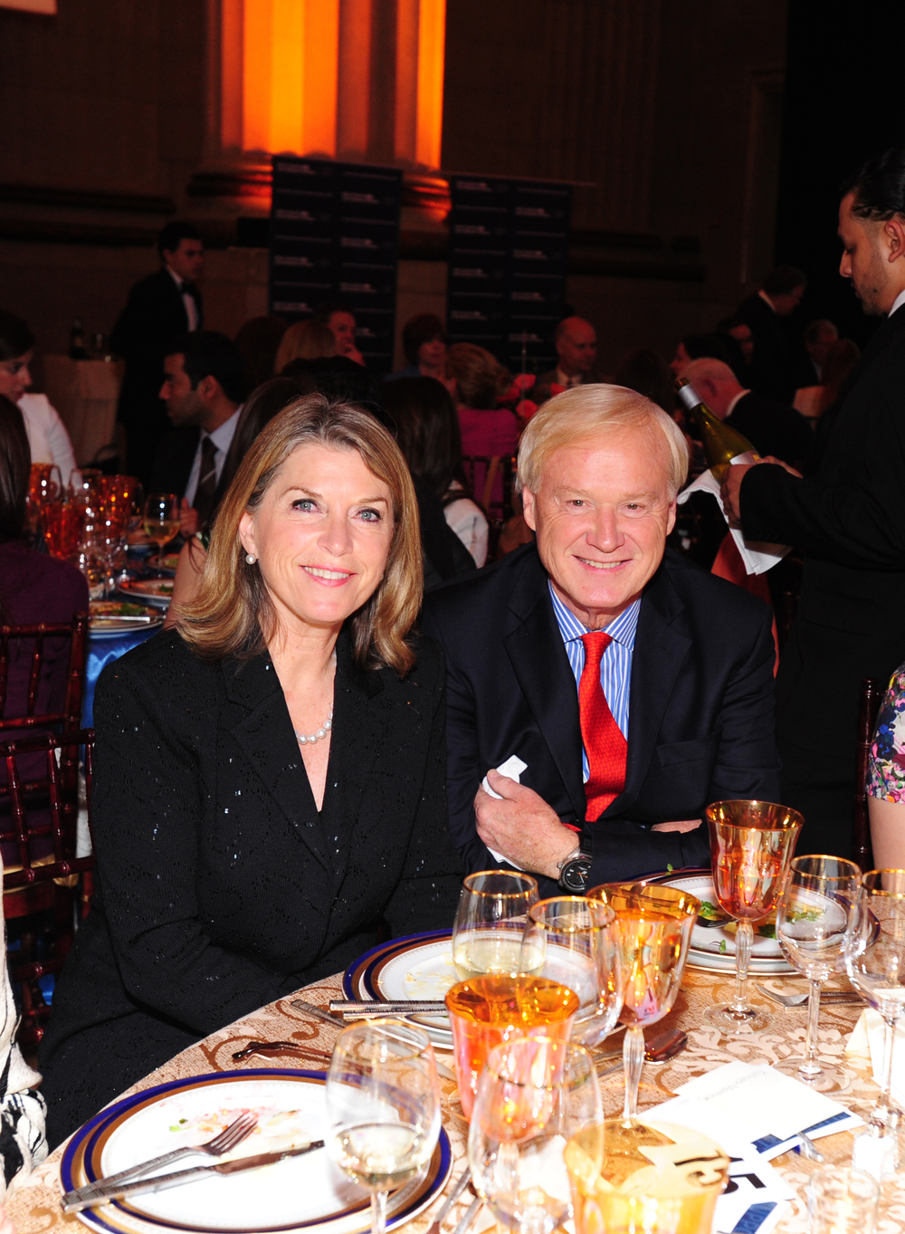 Kathleen and Chris Matthews