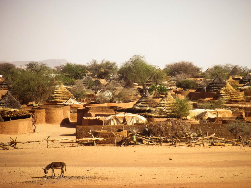 Touloum refugee camp.