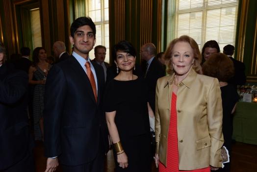 Iman Jawad; Shamim Jawad; and Diane Flamini, Social Secretary, Spanish Embassy