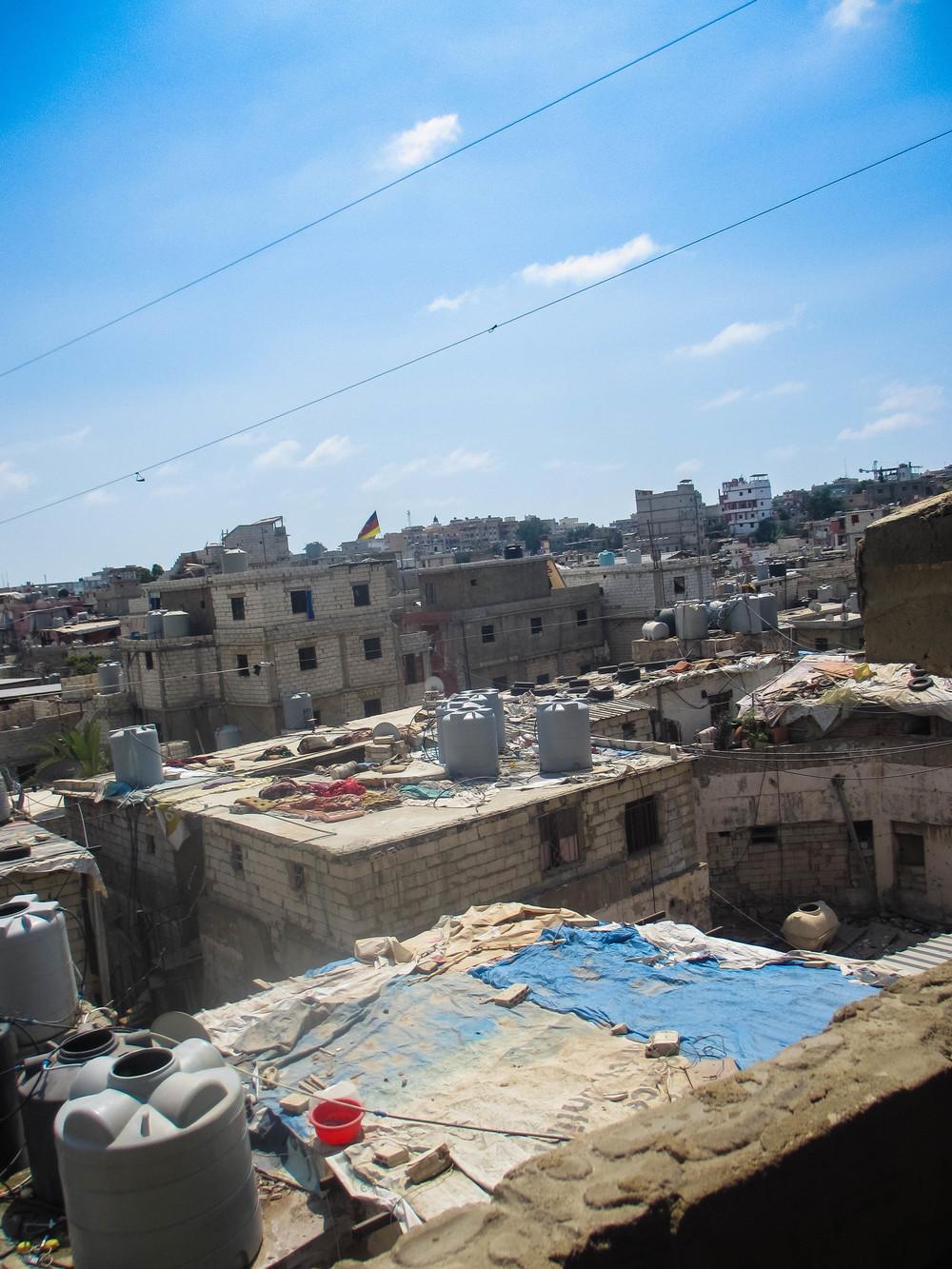 Shatila refugee camp, Beirut, Lebanon.