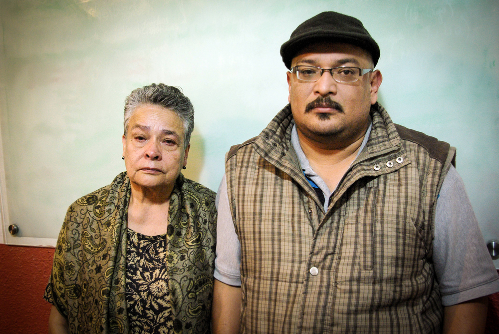 This mother and son from Michoacan find themselves in Mexico City seeking justice for  family members who disappeared two years ago.