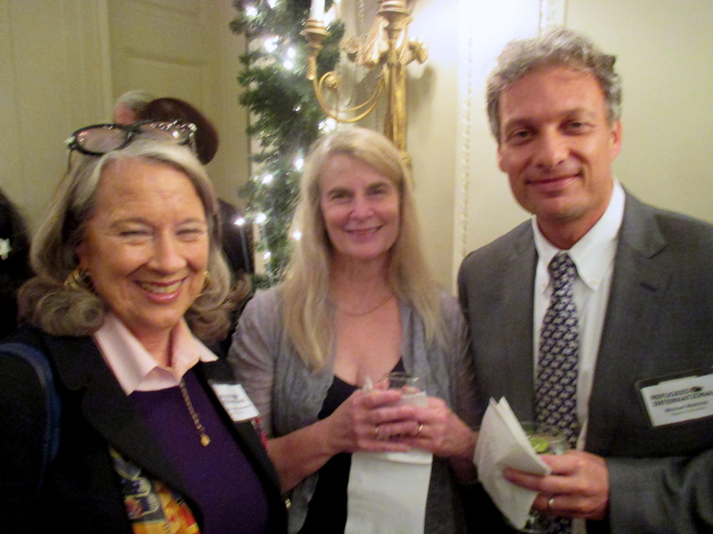 RI Board Members Joanne Leedom-Ackerman, Jan Weil, and Michael Madnick