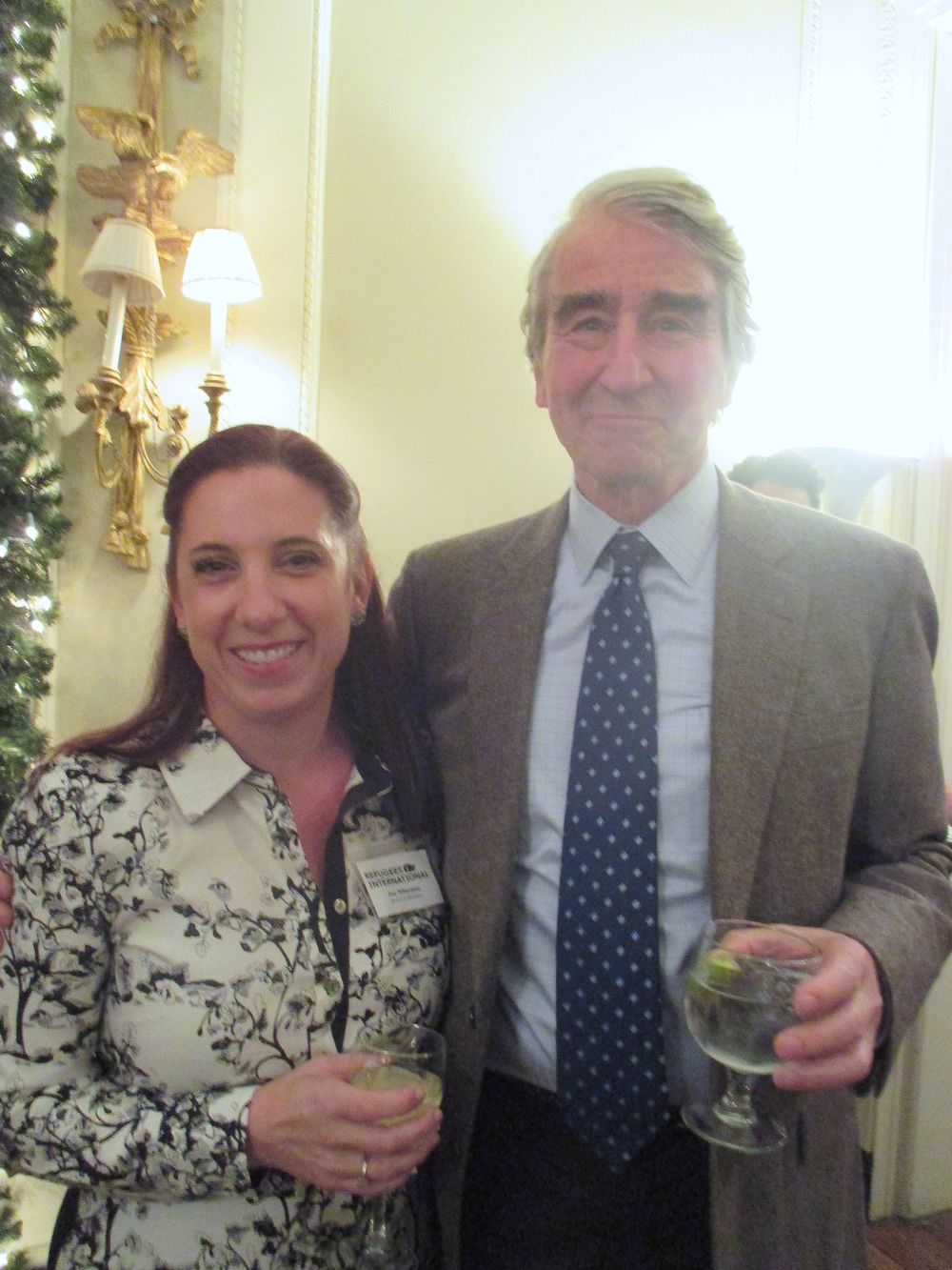 RI Board Members Joy Lian Alferness and Sam Waterston