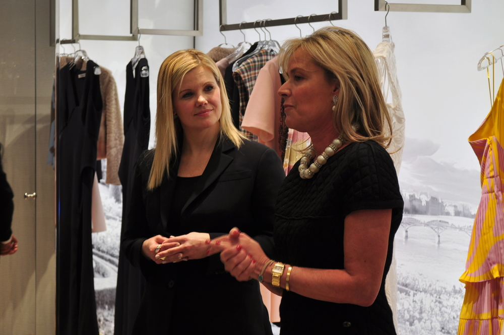 Mariella Trager, Chair of RI's Washington Circle, hosted the event with Trina Sams-Manning, Dior Boutique Director.