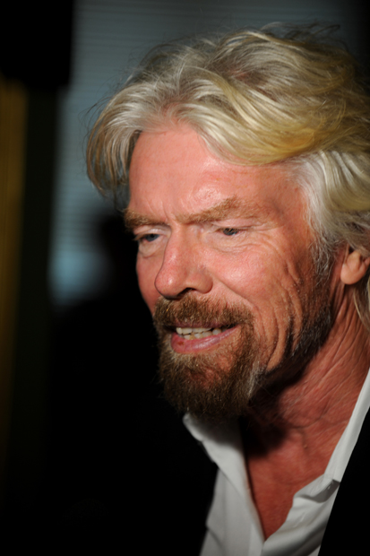Sir Richard Branson, the British billionaire founder of the Virgin Group, was honored with Refugees International's highest humanitarian award, the McCall-Pierpaoli Award.