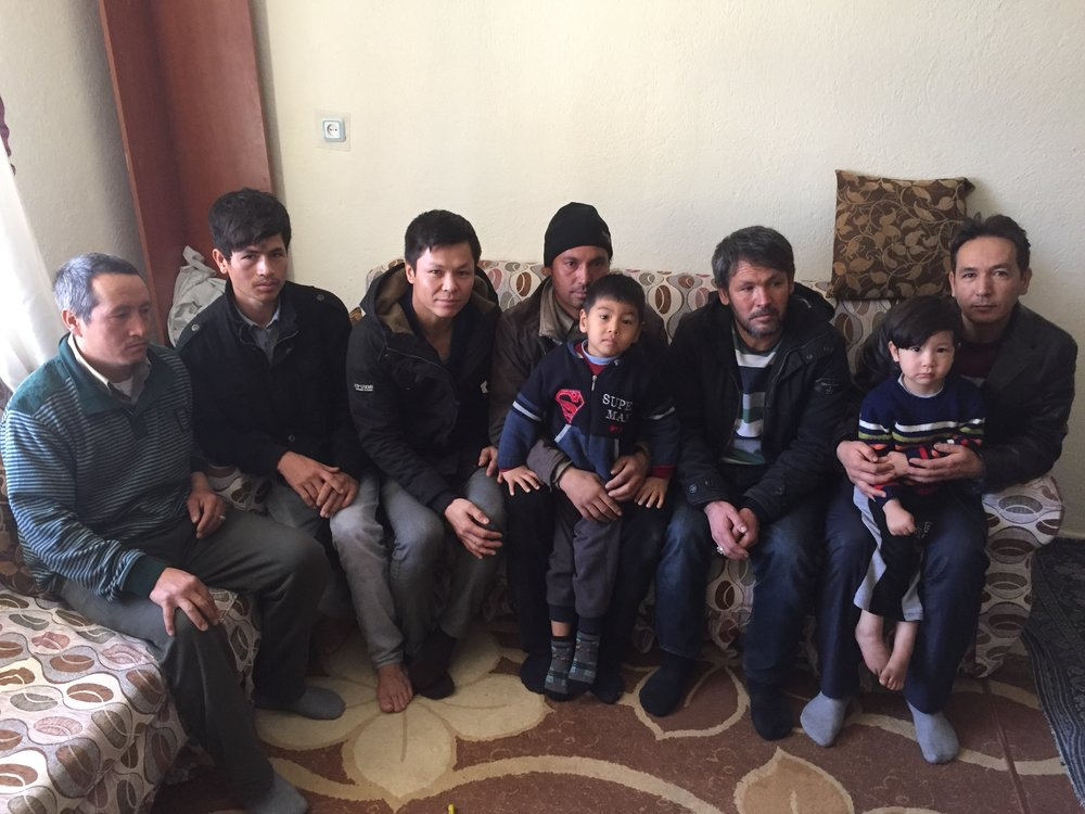 Turkey hosts more refugees and asylum seekers than any other country, 2.8 million from Syria and another 290,000 from other countries, particularly Afghanistan, Iraq, and Iran. Pictured here is a group of Afghan refugees living in Aksaray.