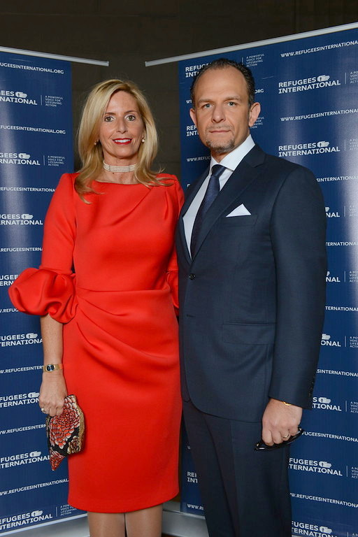 Maria and Fabio Trabocchi, Gala Benefit Chairs.
