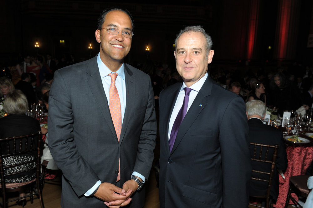 Congressman Will Hurd and Ambassador Arturo Sarukhan.