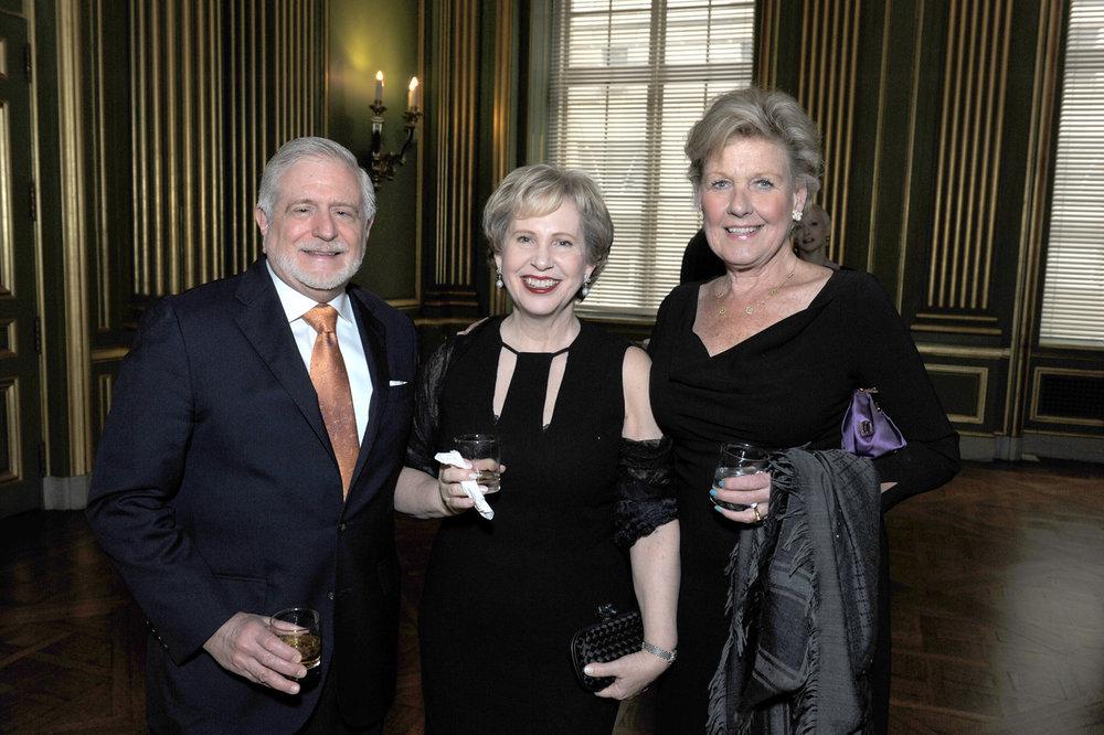 Jim Gale, RI Board Member Lisa Barry, and Leslie Schweitzer.
