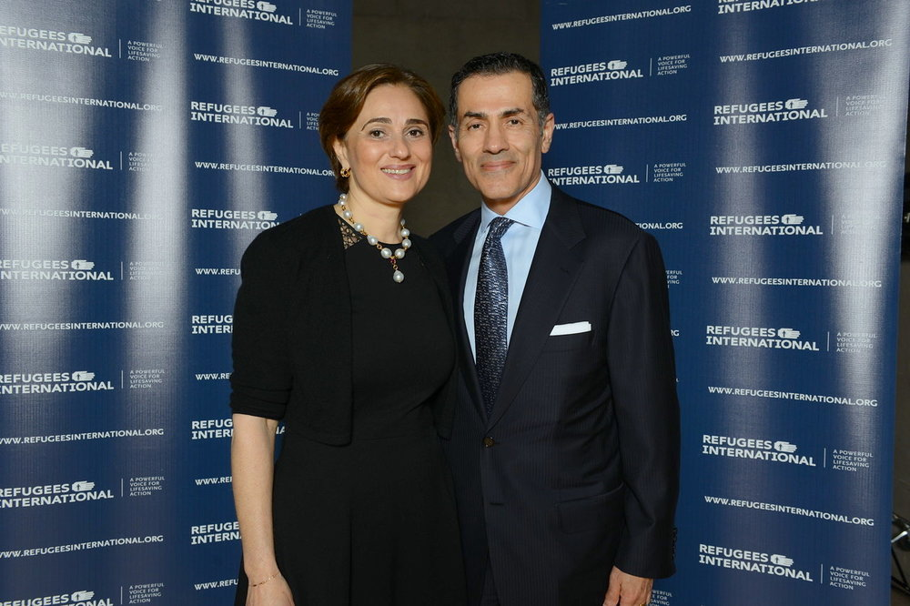 RI Board Member Darya Nasr and Vali Nasr.