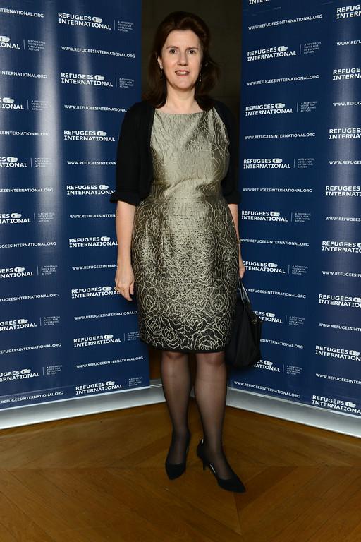 Ambassador of Luxembourg Sylvie Lucas.
