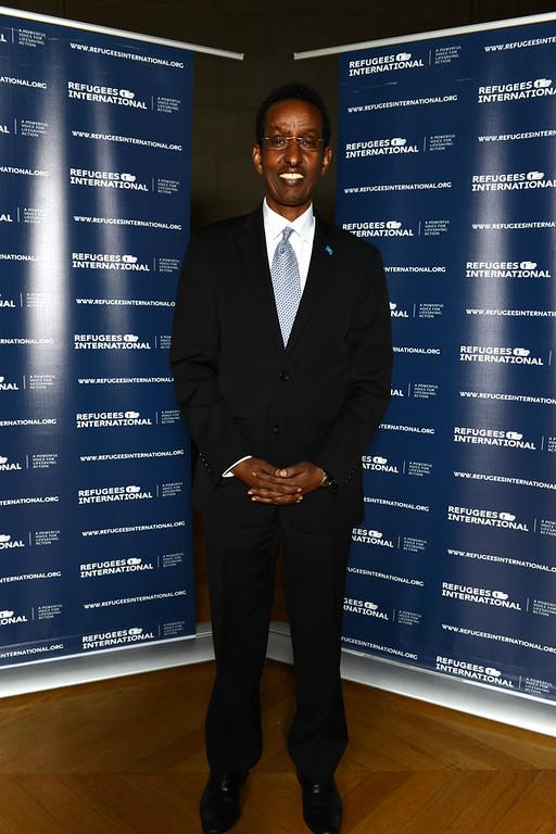 Ambassador of Somalia Ahmed Awad.
