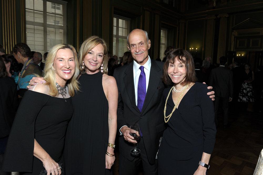 Meg Clerc, Mariella Trager, Michael and Meryl Chertoff.
