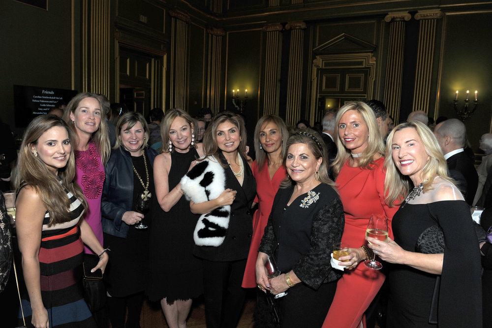 Gabriela Sigala de Moreno,Kathleen Biden, Courtney Straus, Mariella Trager, Princess Yasmine Pahlavi,Marisol Lamadrid, Annie Totah, Benefit Chair Maria Trabocchi, and Meg Clerc.