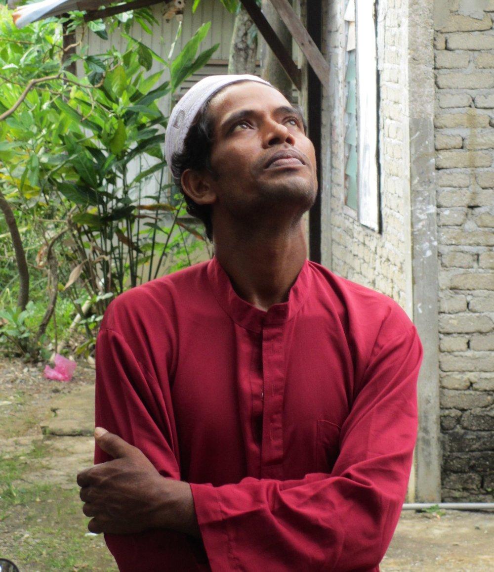 Rohingya man in Kedah.JPG