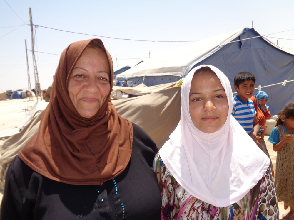 IDP family in Anbar governorate.