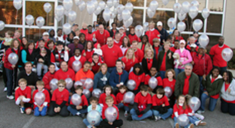 Paragon's large team of employees and family at the 2010 Susan G. Komen Race for the Cure