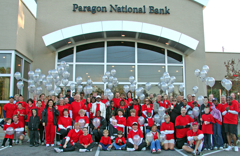 Team Paragon at the 2008 Susan G. Komen Race for the Cure
