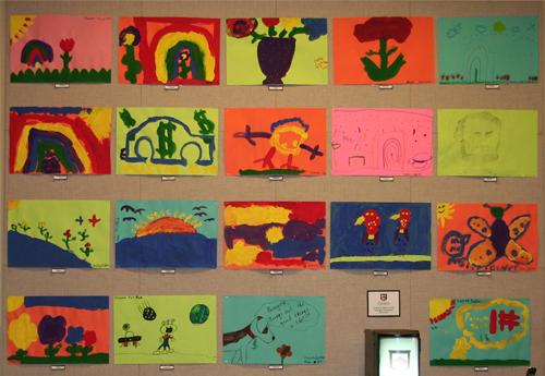 Artwork from Farmington Presbyterian Day School