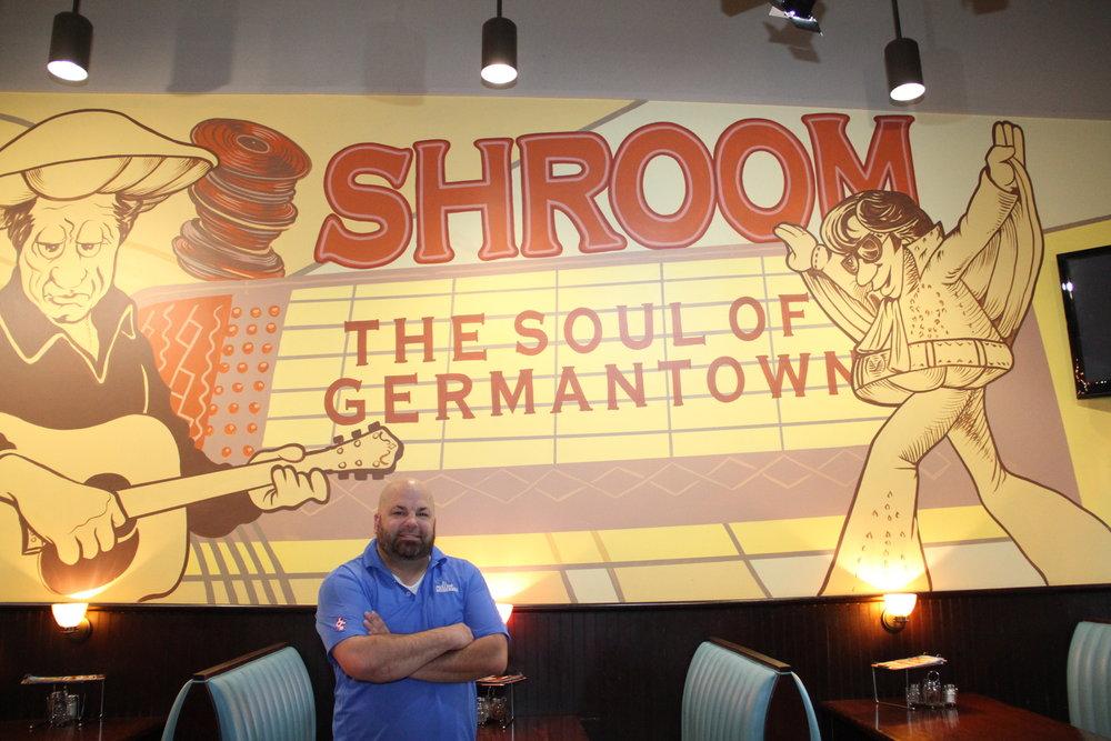 Steve Meek, Owner of Mellow Mushroom Germantown