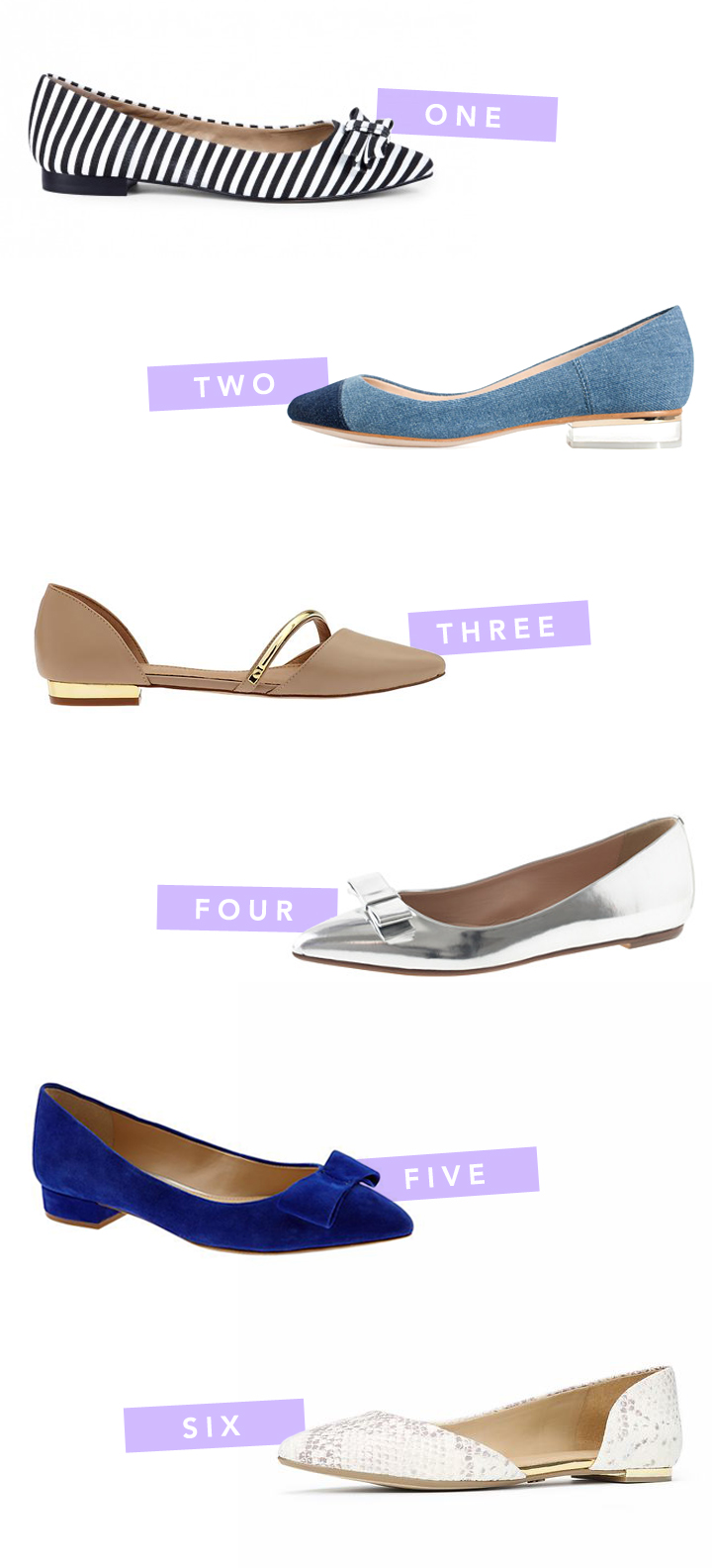 fancy feet | flats!