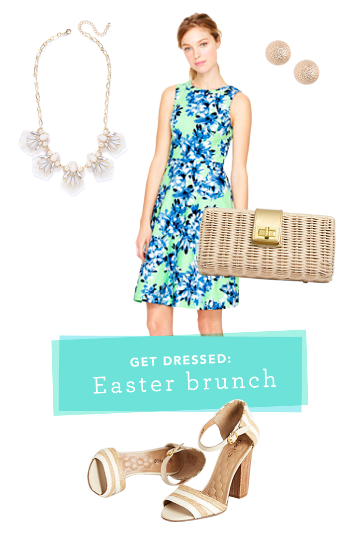 get dressed | easter brunch