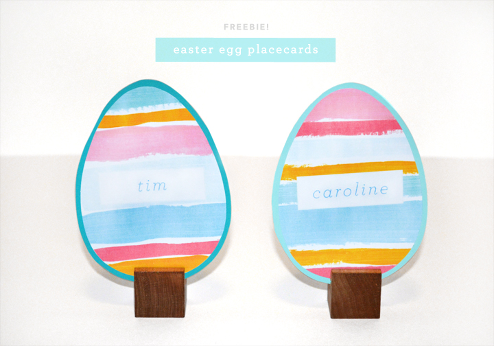 Easter Egg Placecards