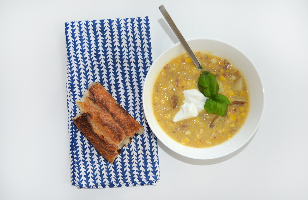 SweetCornChowder