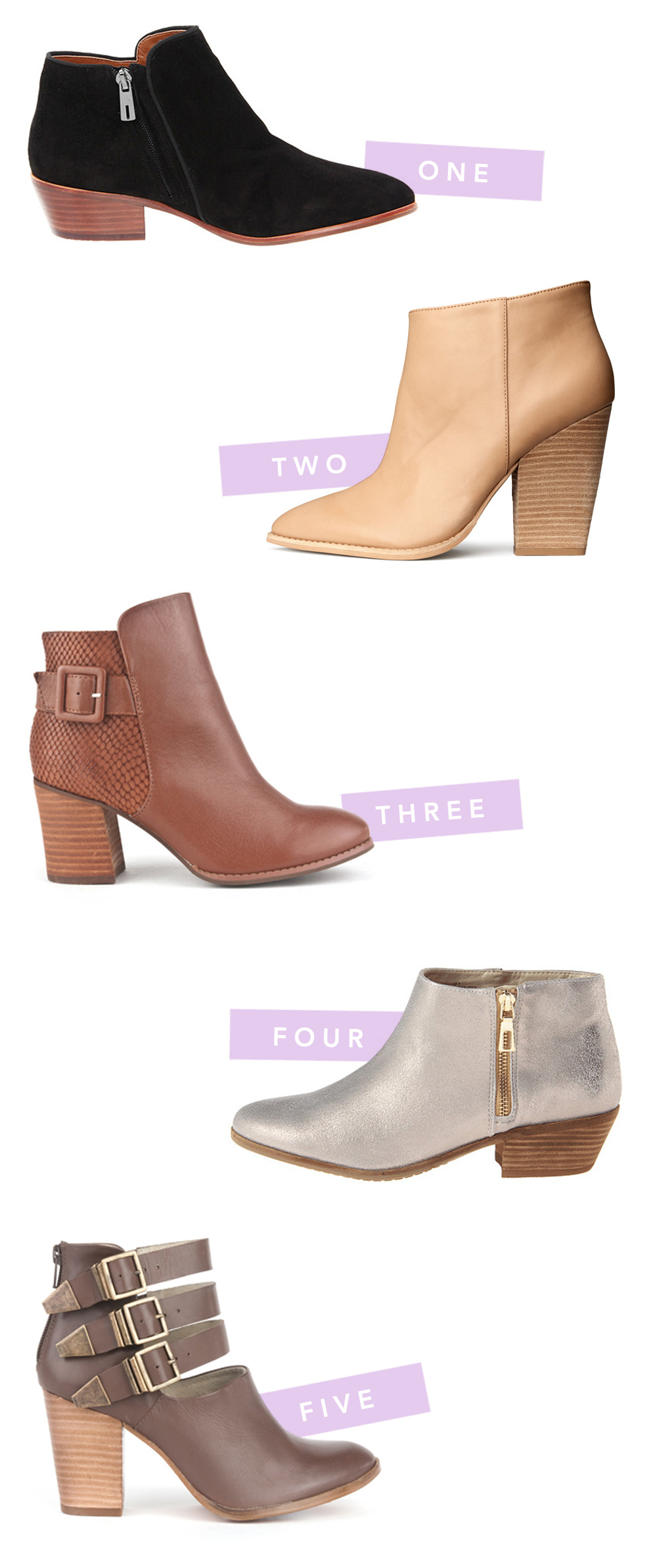 fancy feet | booties