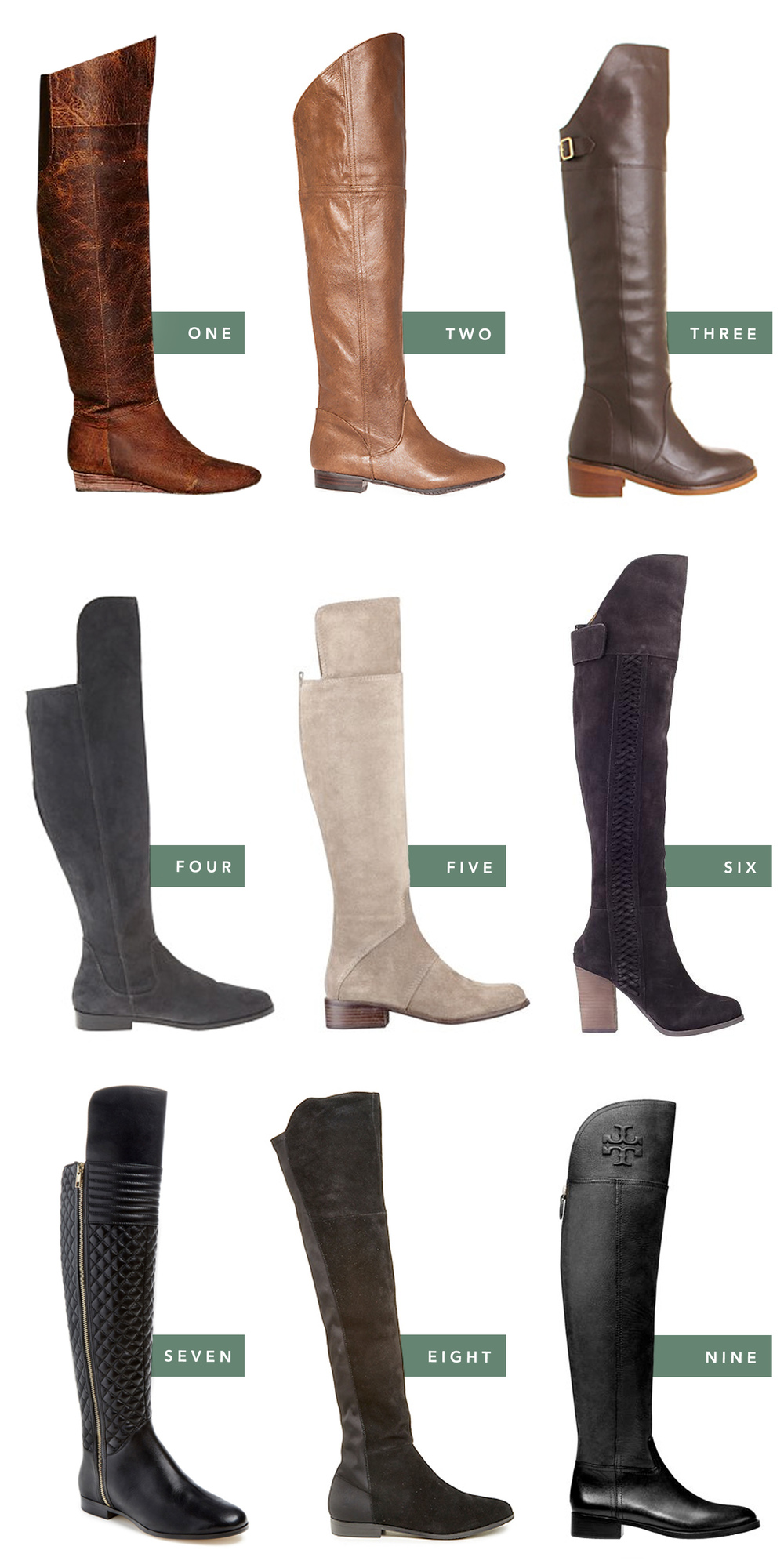 fancy feet | over the knee boots