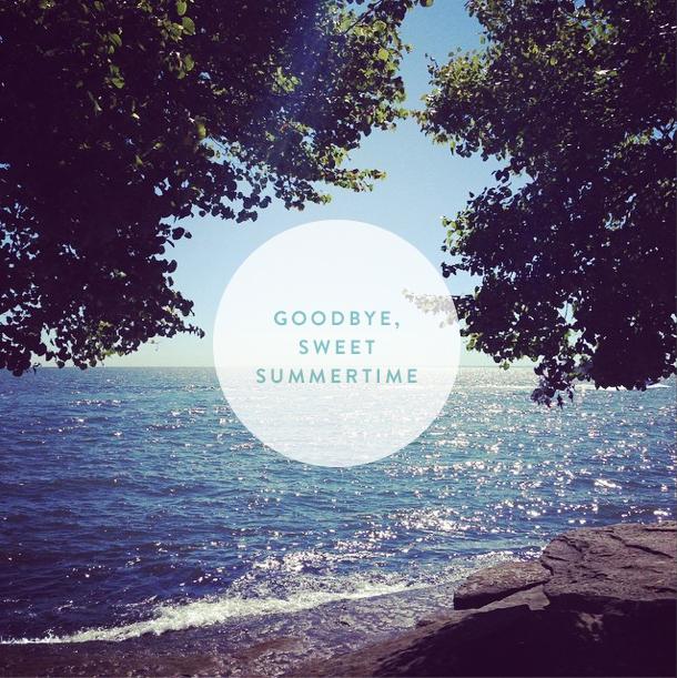 goodbye summer | colorwhirl.com