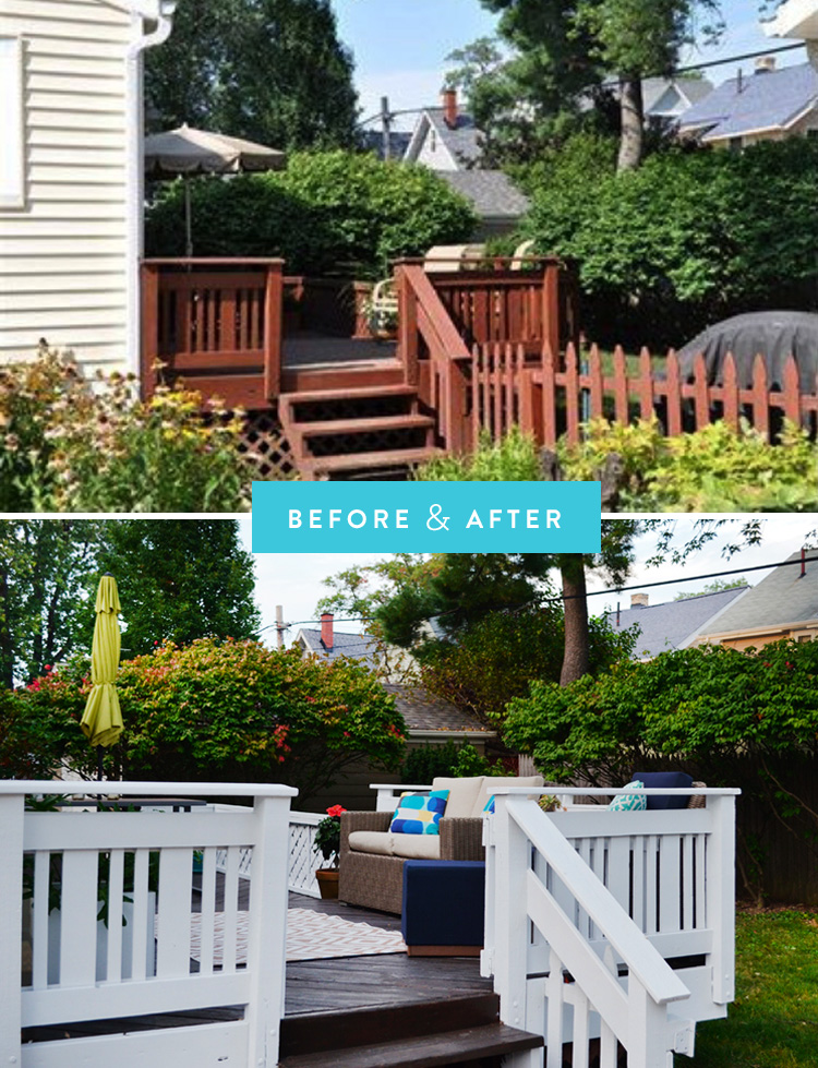 "The ""before"" picture is from Zillow, which is why it's so low-res."