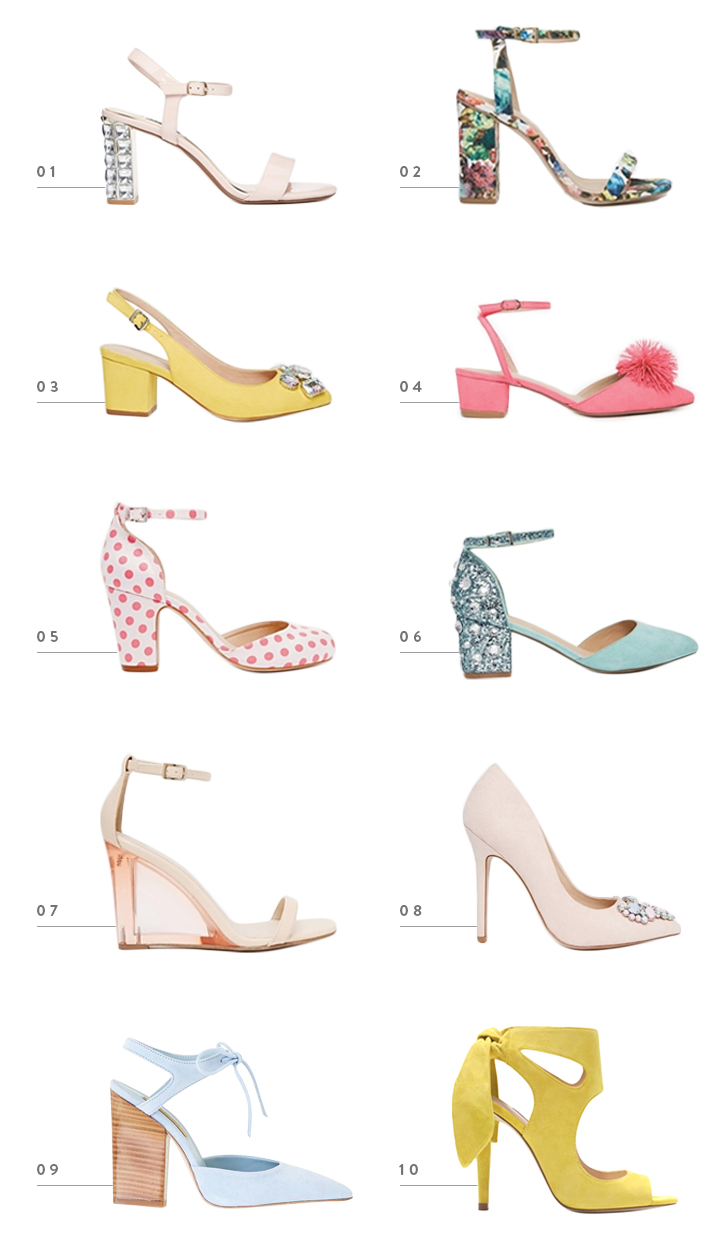 colorwhirl | spring statement heels