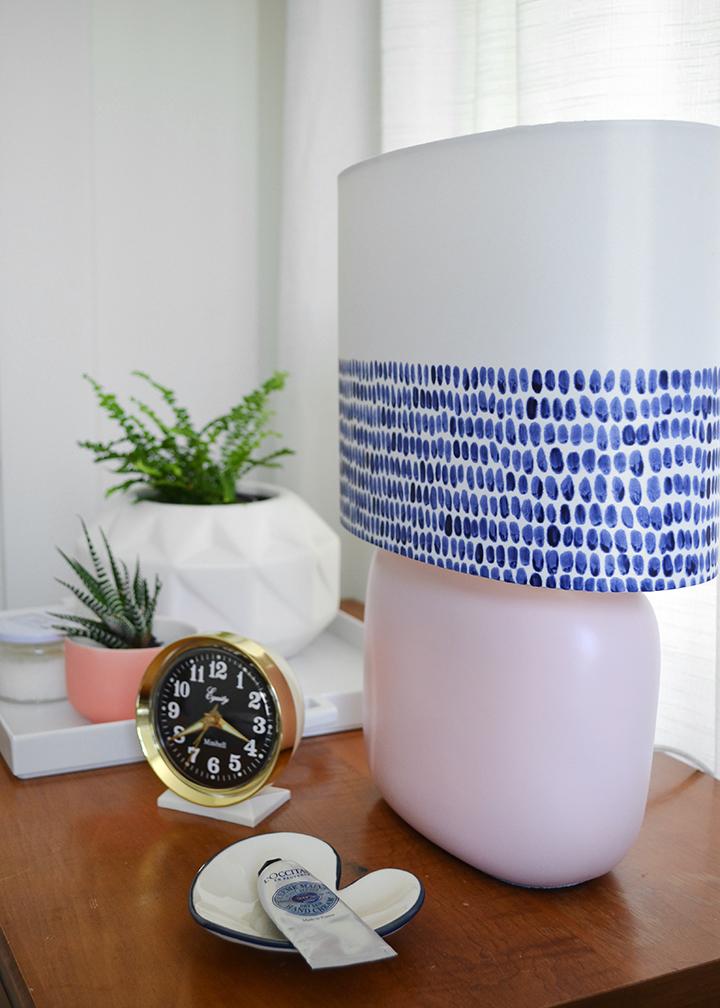 Rebecca Atwood inspired lamp DIY | colorwhirl.com