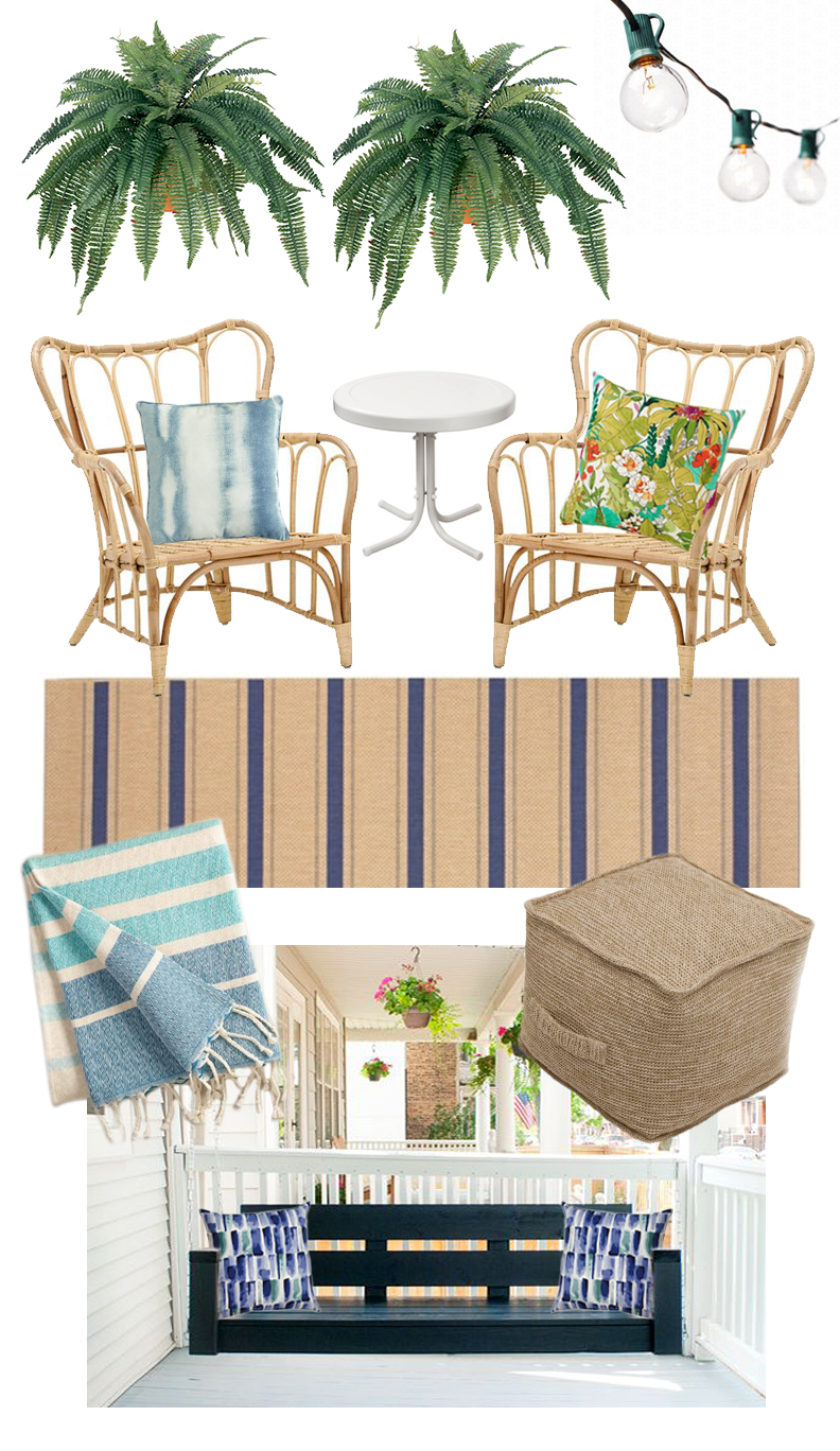 front porch living | colorwhirl.com