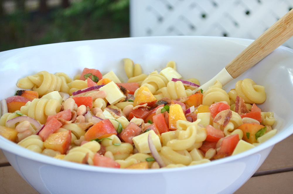 colorwhirl summertime pasta salad
